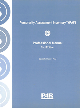 PAI Personality Assessment Inventory